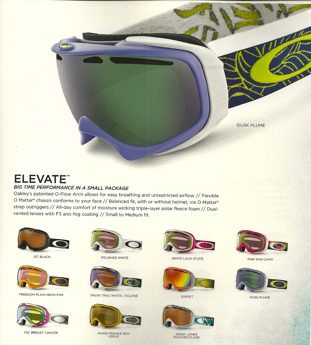 oakley elevate  Goggle Review: Oakley Elevate